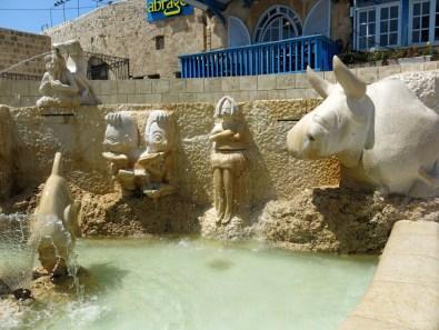 The zodiac fountain