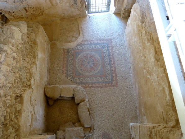 Original mosaic floor