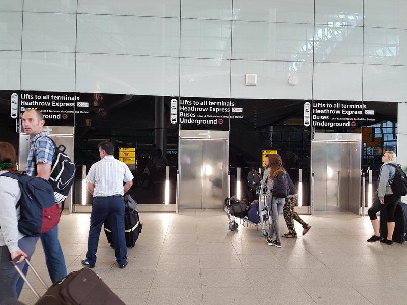 How to get from Terminal 2 Heathrow to the Paddington