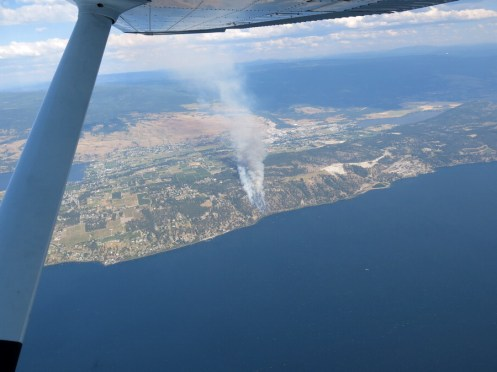 fire east shore