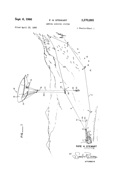 picture for patent for balloon logging