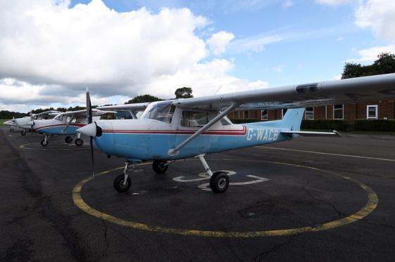 rented Cessna