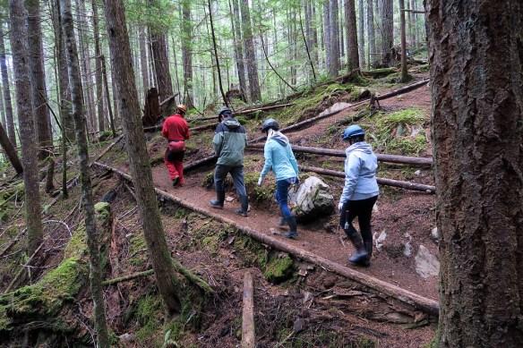 trail route enroute