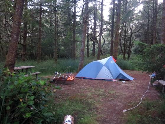 airstrip campsite