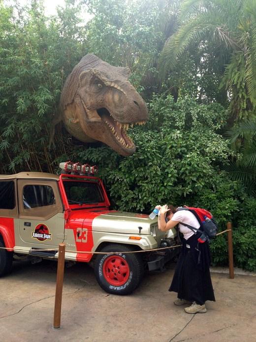 Tyranosaurus attack