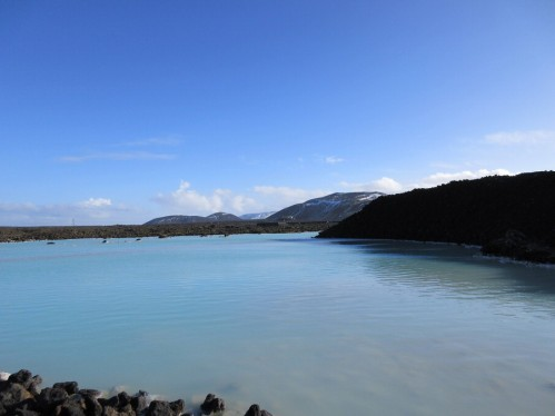 entrance to blue lagoon
