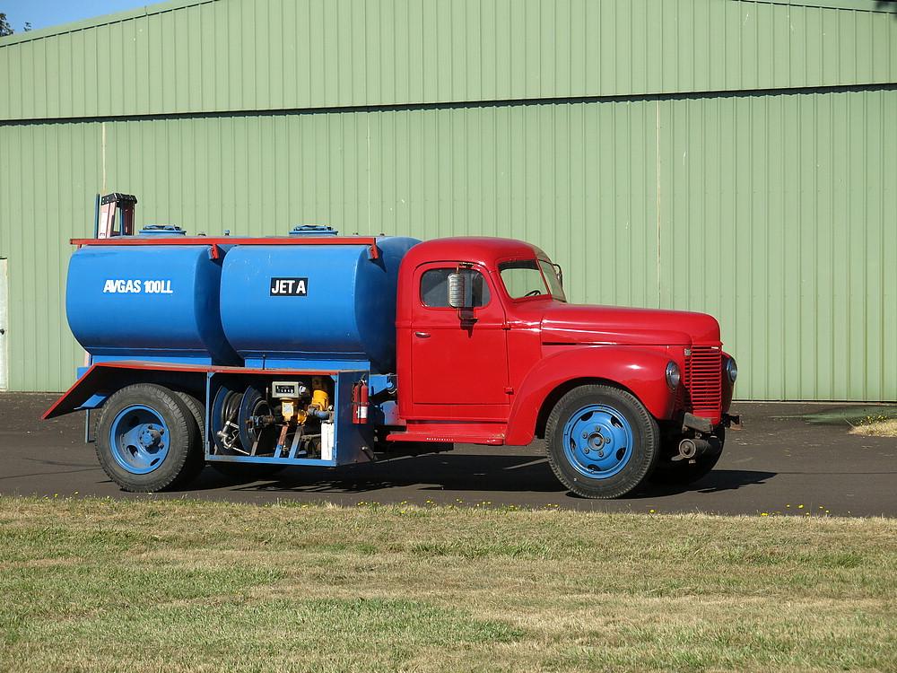 Funky fuel truck!