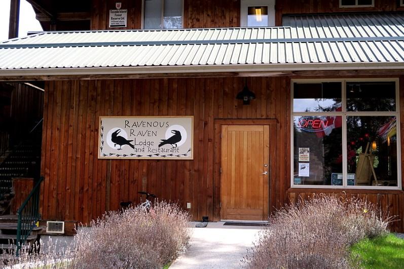 The Raven's entrance
