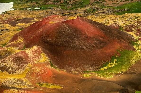 Aerial of Sydri-Raudamelskulur