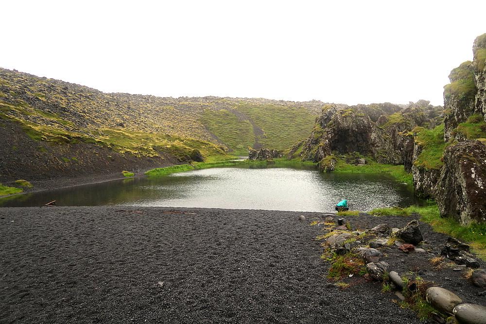 Eerie Black Lagoon at Djupalon